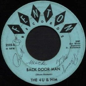 4U and Him - Back Door Man (Fenton 2522-A)