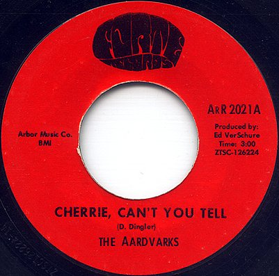 The Aardvarks - Cherrie Can't You Tell (Forte 2021-A)