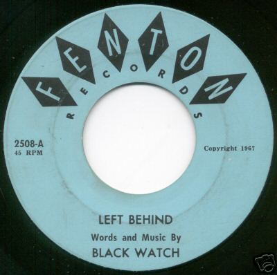 Black Watch - Left Behind (Fenton 2508-A)