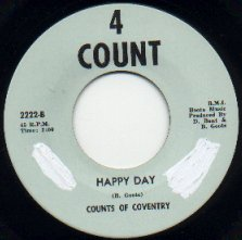 Counts of Coventry - Happy Day (4 Count 2222-B)