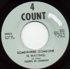 Counts of Coventry - Somewhere (4 Count 2222-A)