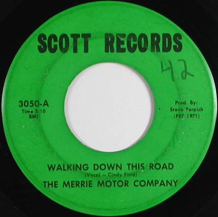 Merrie Motor Company - Walking Down This Road (Scott 3050-A)