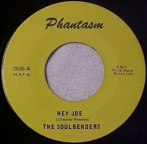 Soulbenders - Hey Joe (Phantasm 2530-A)